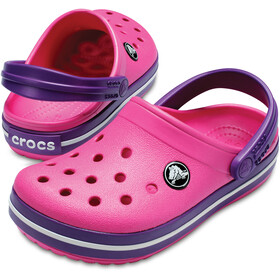 Crocs Crocband sandaalit Lapset, paradise pink/amethyst